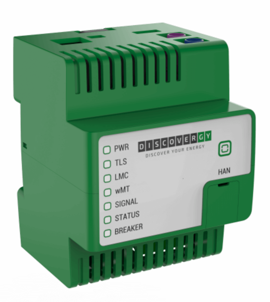Smart Meter Gateway von Discovergy